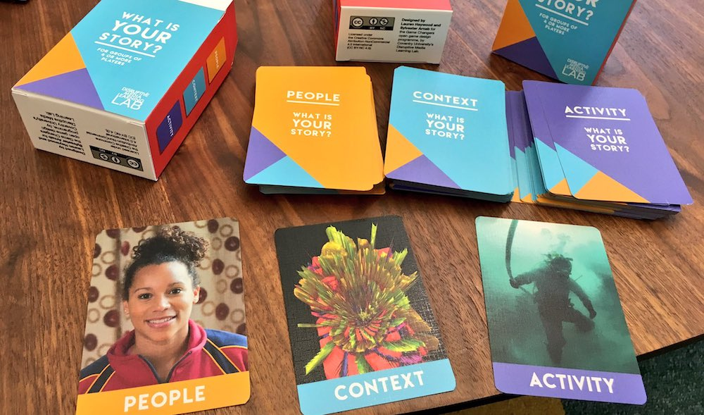 Introducing the What is Your Story? Cards